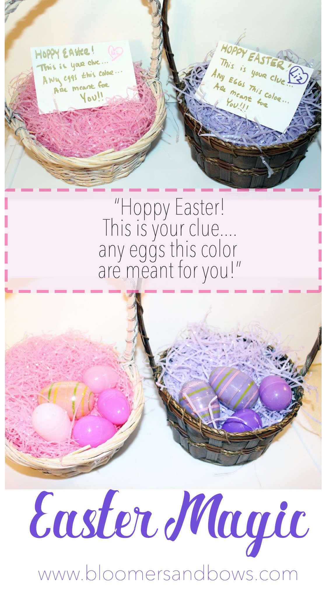 Easter Egg Hunt for little Girls   Easter Egg Scavenger Hunt   Bloomers and Bows  www.bloomersandbows.com
