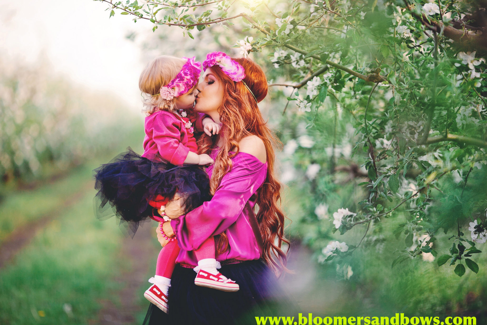 Beautiful Mother & Daughter Photos