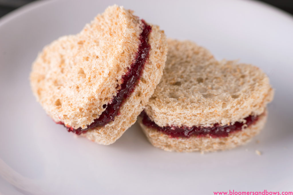 Heart Jelly Sandwich for Kids, Perfect for Valentines Day | Bloomers and Bows