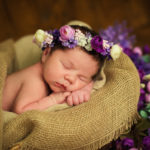Newborn Photo ideas for a Spring Baby | Bloomers and Bows | www.bloomersandbows.com