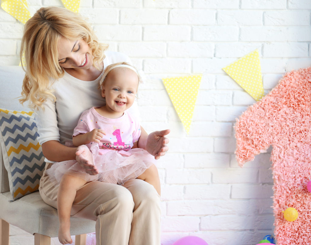 Mother and Daughter First birthday Photos. Best First Birthday Photo Ideas Bloomers and Bows Everything Loveable about little Girls.
