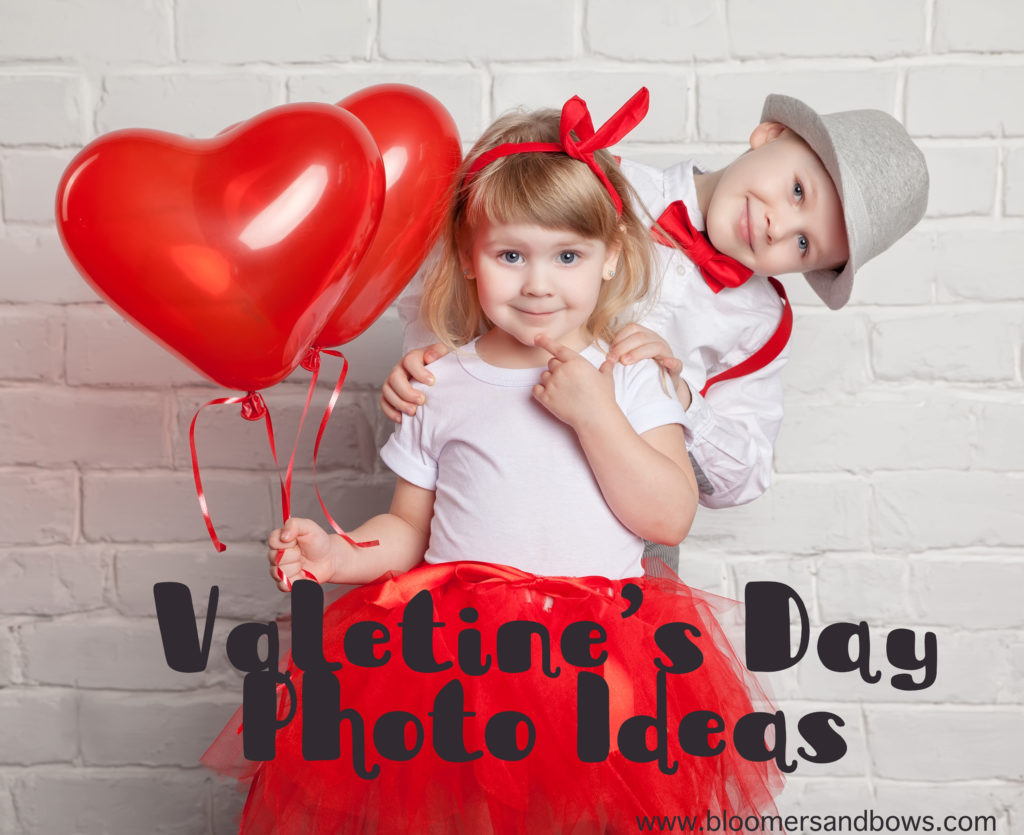 Cutest Valentine's Day Photo Ideas | Bloomers and Bows