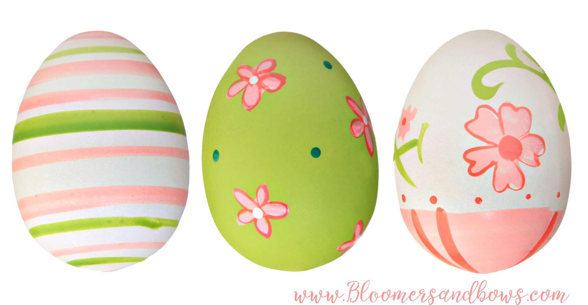 Easter Egg Coloring Ideas | Bloomers and Bows