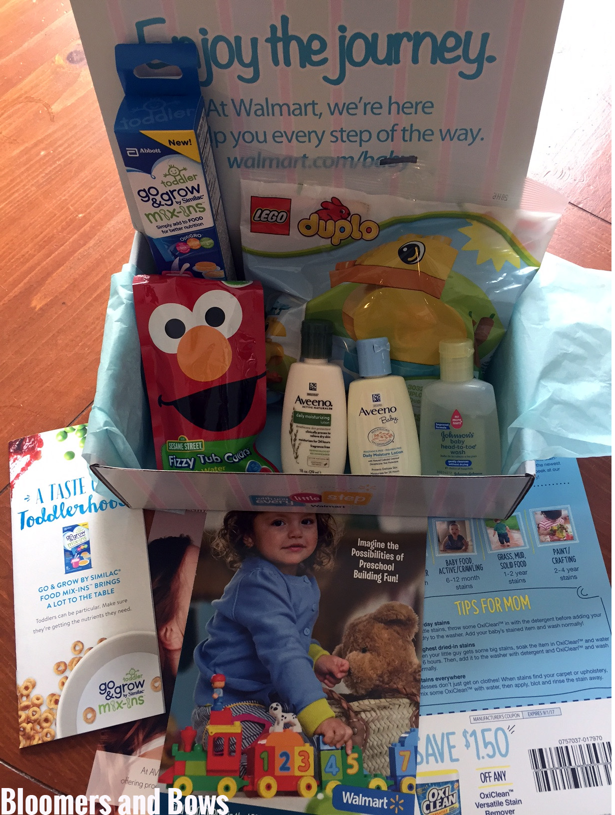Unveiling of a Walmart Toddler Box