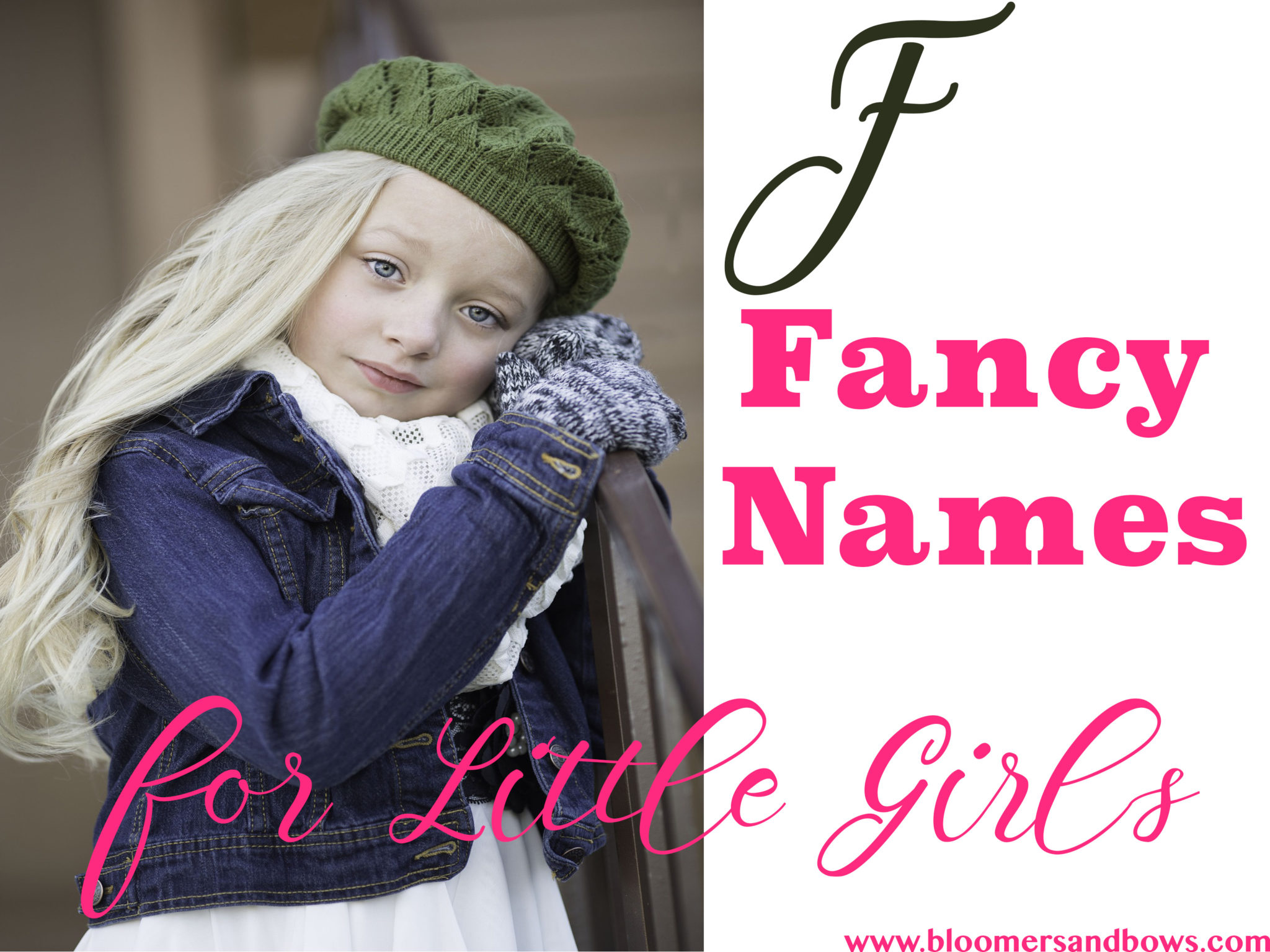 "Fancy Names that begin with ""F."" Bloomers and Bows 