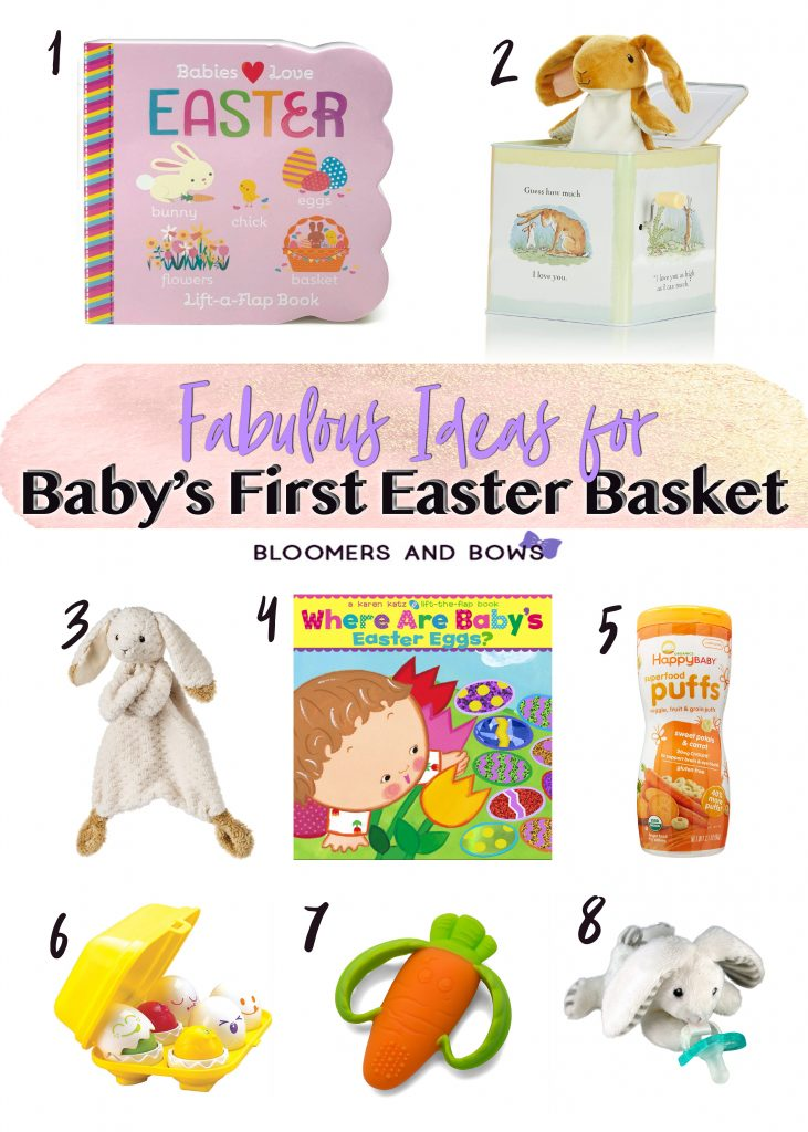 Fabulous Ideas for Baby's First Easter Basket