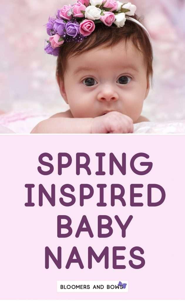 Spring Inspired Girl Names